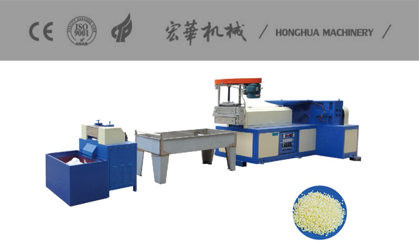 HR-120 Waster Plastic Recycle Machine